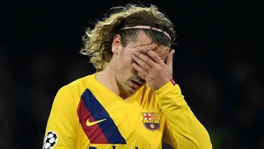 برشلونة يحدد حجم اصابة جريزمان في بيان رسمي