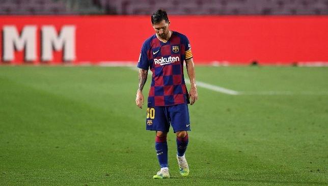 ميسي ينفجر في وجة برشونة بعد حسم ريال مدريد لقب الليجا