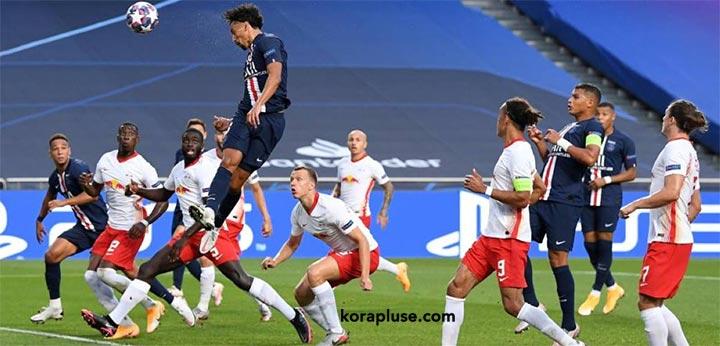 نيمار يقود باريس سان جيرمان الى الفوز على لايبزيج في دوري ابطال اوروبا