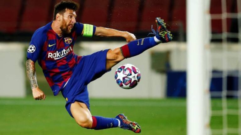 ميسي يقود برشلونة لملاقاة بايرن ميونيخ في ربع نهائي دوري أبطال أوروبا