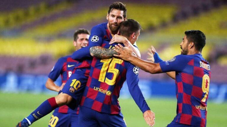 ميسي يخالف نظام برشلونة ويتواجد للتدريب لمواجهة بايرن ميونيخ