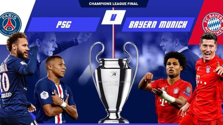 تشكيلة فريق بايرن ميونيخ و باريس جيرمان الرسمية في مباراة نهائي دوري ابطال اوروبا