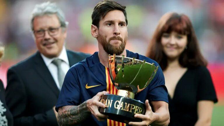 تعرف على منافس برشلونة في كاس غامبر وموعد المباراة