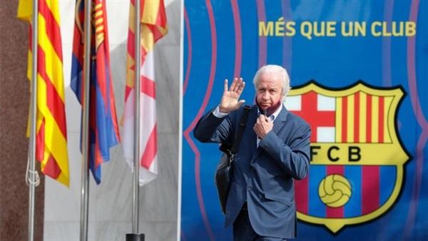 رئيس برشلونة المؤقت يعلن موعد الانتخابات في النادي الكتالوني