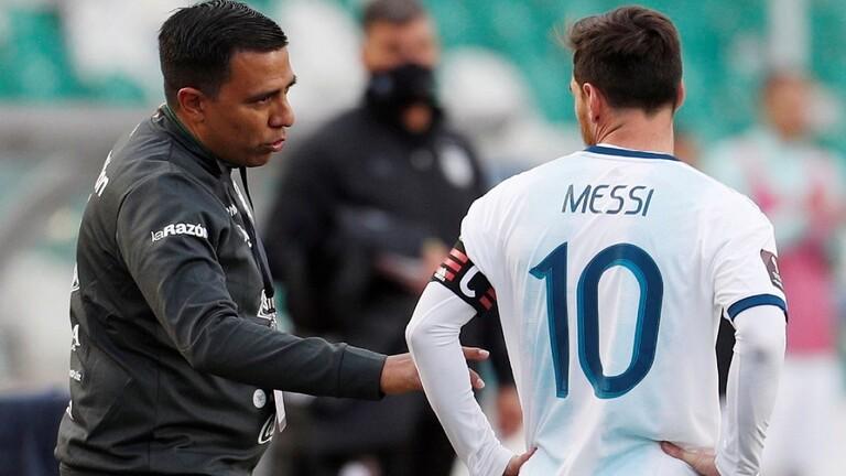 كشف سبب انفعال ميسي عقب مباراة الأرجنتين وبوليفيا