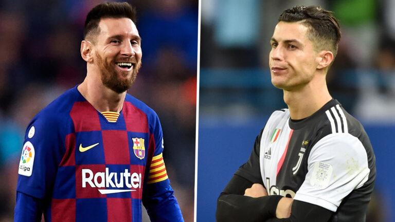 ميسي ضد رونالدو في دوري ابطال اوروبا 2020-2021