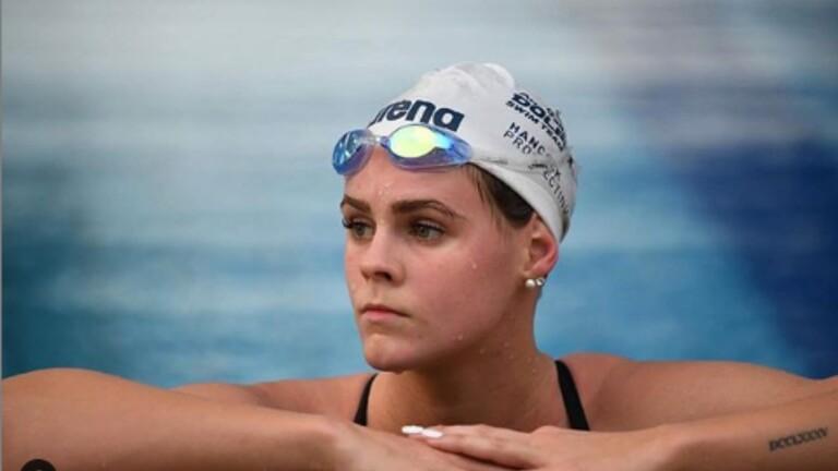 السباحة الأسترالية شاينا جاك في محكمة التحكيم تخفض الإيقاف