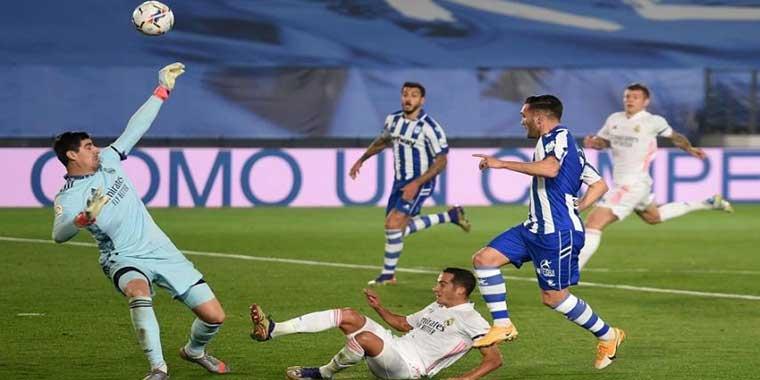 ريال مدريد يسقط في فخ الافيس ويخسر ثلاث نقاط ثمينة