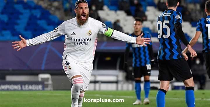 ريال مدريد يهزم انتر ميلان في دوري ابطال اوروبا