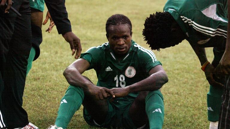 لاعب منتخب نيجيريا السابق ينجو من عملية خطف