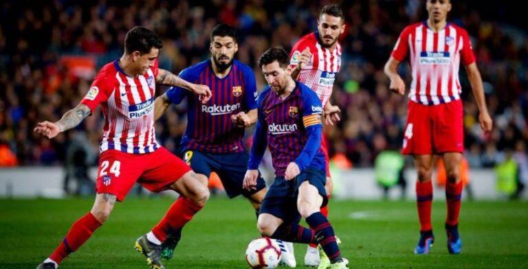 ارقام ميسي مع برشلونة ضد اتلتيكو مدريد