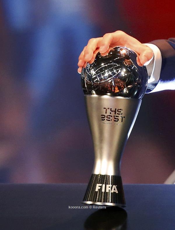 شاهد حفل تسليم جائزة افضل لاعب في العالم 2020 بث مباشر