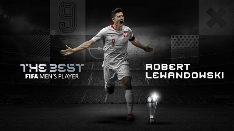 ليفاندوفيسكي أفضل لاعب في العالم للعام 2020