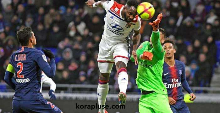 ليون يهزم باريس سان جيرمان بهدف نظيف في الدوري الفرنسي
