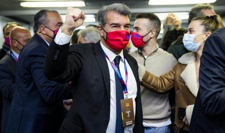 نتائج انتخابات برشلونة - فوز خوان لابورتا رئيس نادي برشلونه الجديد