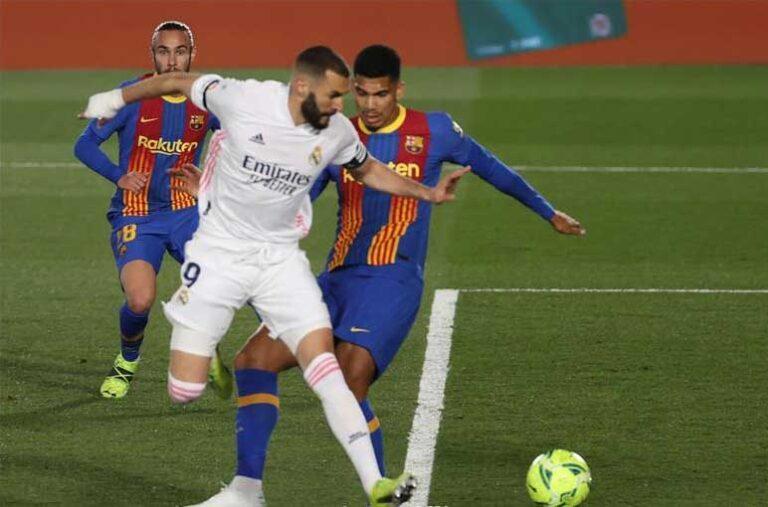ريال مدريد يكرر الفوز على برشلونة في مباراة الكلاسيكو ويتصدر الدوري الاسباني
