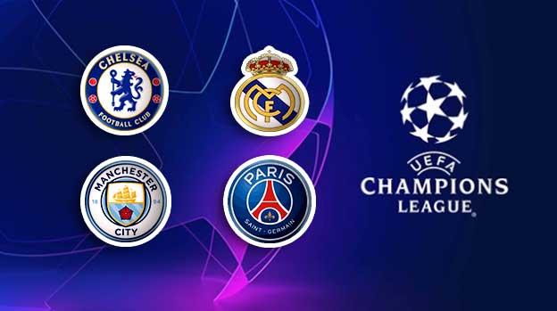 موعد مباريات نصف نهائي دوري أبطال أوروبا 2021