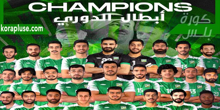 شاهد تتويج نادي العربي بلقب الدوري الكويتي 2021