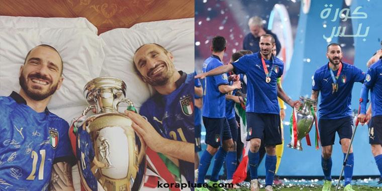 بونوتشي و كيليني مفتاح فوز ايطاليا بلقب يورو 2020
