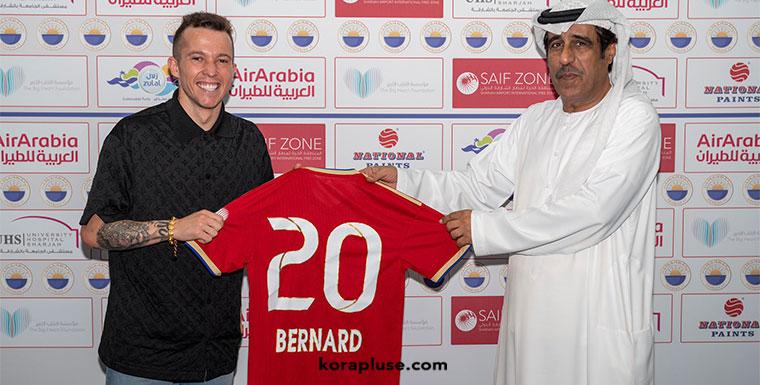 نادي الشارقة يتعاقد مع البرازيلي بيرنارد قادماً من نادي ايفرتون