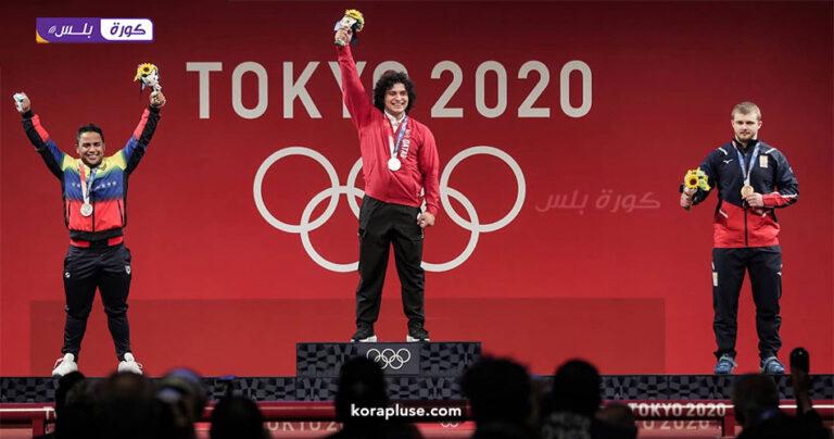 فارس ابراهيم يهدي قطر أول ميدالية ذهبية في تاريخها شاهد بالفيديو اولمبياد طوكيو