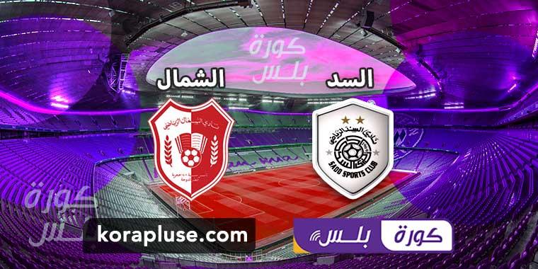 مشاهدة مباراة السد والشمال بث مباشر دوري نجوم قطر