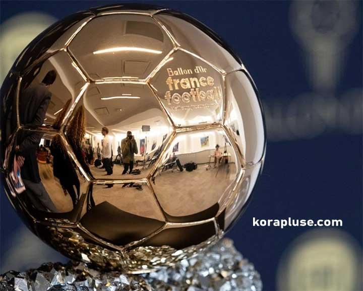 قائمة اللاعبين المرشحين لجائزة الكرة الذهبية للعام 2021 رسميا